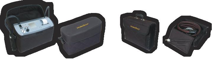 分析仪及附件箱 -  外视图