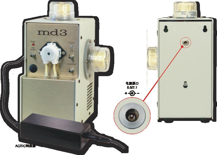 Md3烟气干燥器作为便携式(实验室)单元
