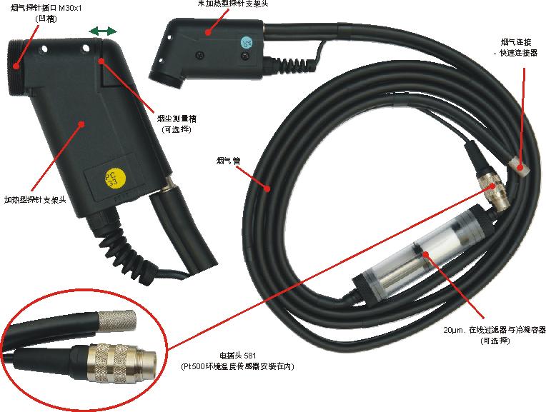 用于其他仪器的气体探针支架